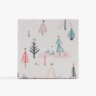 화이트 크리스마스 포장지(3개)