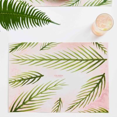 차리다 페이퍼매트 No.2 - Evergreen Pink