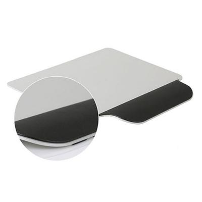알루미늄 손목보호 마우스패드(손목고무처리)