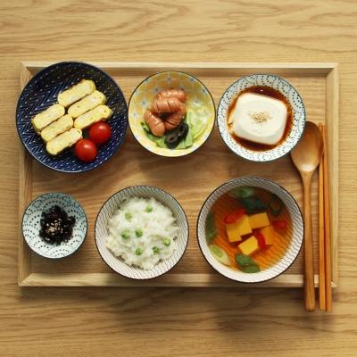 히츠키코보 혼밥세트 1인 한식기 그릇세트 6P-육각