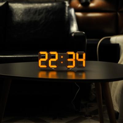 Dual Color Mini LED Clock 듀얼컬러 미니 LED 클락/오렌지&화이트
