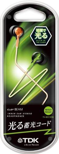 TDK CLEF-Veam TH-BEC200 야광케이블 이어폰