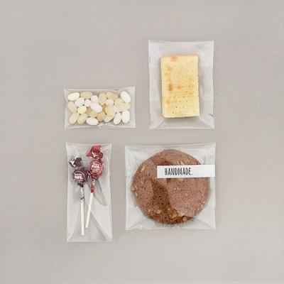 투명 접착비닐 봉투(S/50개)