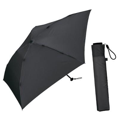 Kiu우산 초경량 130g 블랙 3단우산 K48-900