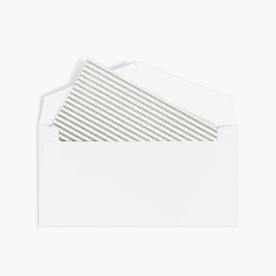 줄무늬편지지와 화이트봉투