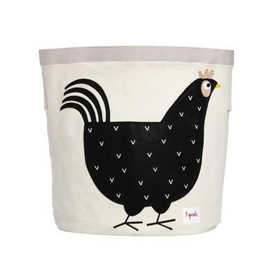 수납정리함 빈(장난감정리함)-블랙닭