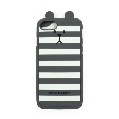 크래프트홀릭 Shell Cover for iPhone 7 (GRAY BORDER SLOTH)