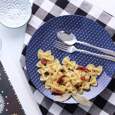 히츠키코보 10.5인치 접시-빗살