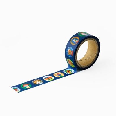 [AIUEO] Masking tape katanuki - marumado night