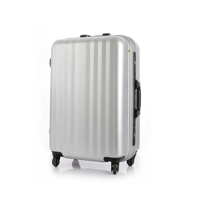 [스크래치]유랑스 여행가방 201-24형 수화물용 실버