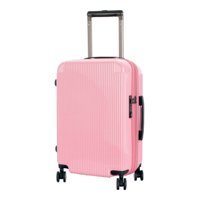 [스크래치]유랑스여행가방 7107-24형 핑크