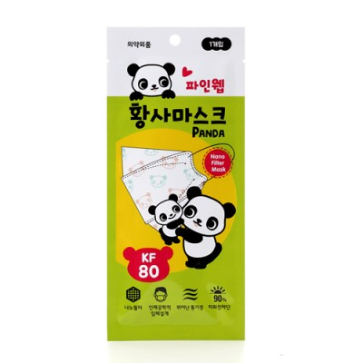 파인웹 황사마스크 Panda KF80 (소형, 1개)