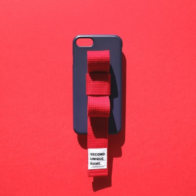 SUN CASE RIBBON NAVY RED