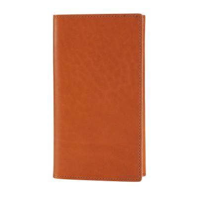 Karl Passport Wallet Cognac
