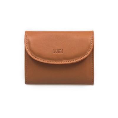 ASA Card Wallet Beige/Orange