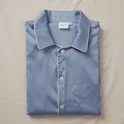[closingment] silky stretched men's pajama set Mid-Air