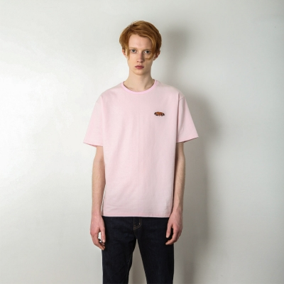 PEPPER LOGO T-SHIRT[PINK]