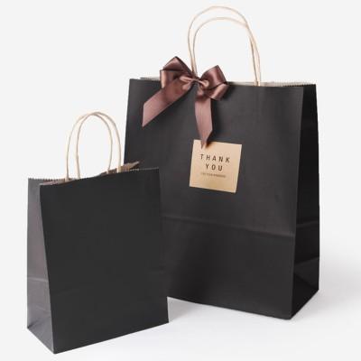 인디고샵 크라 블랙 쇼핑백