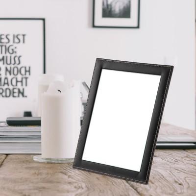 [트리빔하우스] PU 사각 거치형 탁상 거울