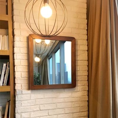 GEDY ALABAMA  사각 거울_wooden