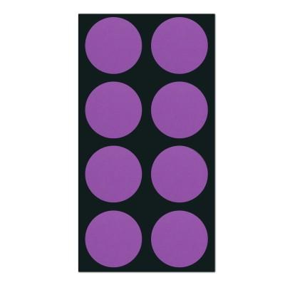 폼텍 마이스티커 도트 09 바이올렛 25mm 시트 [10시트]