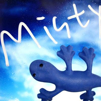 new 차량용 도마뱀 방향제 - 블루 미스티
