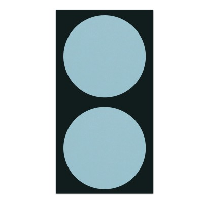 폼텍 마이스티커 도트 11 라이트 블루 50mm 시트 [10시트]