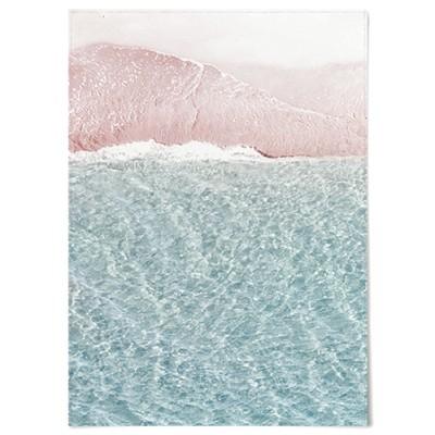 패브릭 천 포스터 F034 바다 풍경 사진 파도