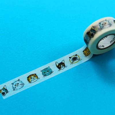 MASTE Masking Tape 고양이-MST-ZB01-C