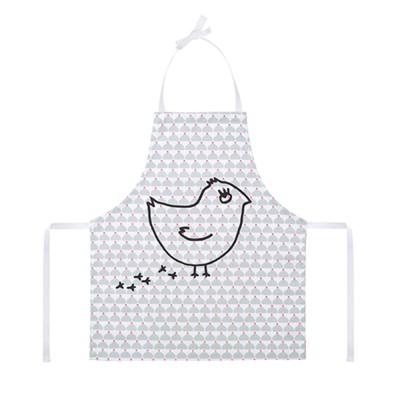 [la cocotte] Grey Chic Chick Coquito 키즈 앞치마