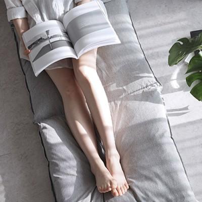 베이직 스트라이프 3단방석 겸 쇼파패드(솜포함)