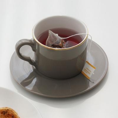 [쓰임] 소울 브라운 커피잔 1인조 세트