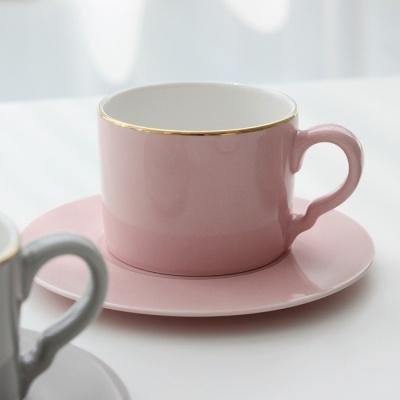 [쓰임] 소울 핑크 커피잔 1인조 세트