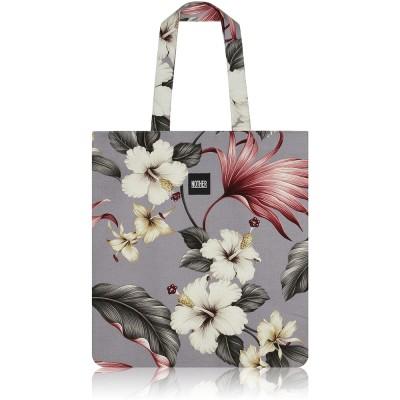 nother Hamakua Hawaiian Flat Tote Bag (Slate)