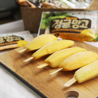 푸드라마 정글 아이스망고스틱60g 30봉+4봉