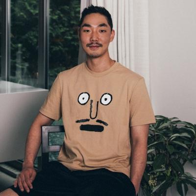 [예약주문][NOUNOU S1] Face S1 T-Shirts(Beige)_(543511)