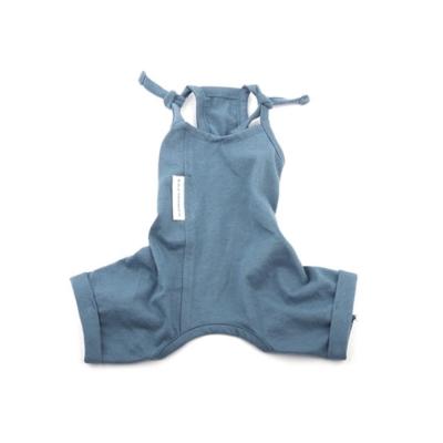 [blackmayonnasie] White Label Cotton Jumpsuit_Cobalt Blue