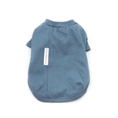 [blackmayonnaise] White Label Cotton Tee_Cobalt Blue