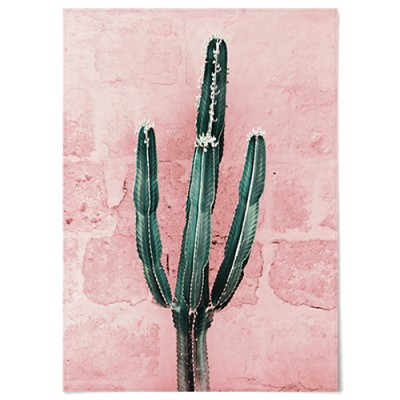패브릭 천 포스터 F043 식물 선인장 Green cactus