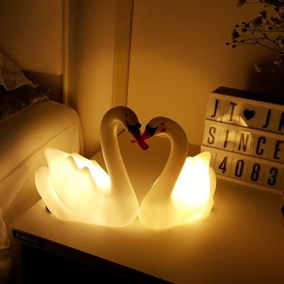 [당일발송] 스위트 스완 LED 수면 램프 2종세트