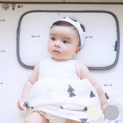 [꿈비] 3D 매쉬 아기쿨베개-논슬립 실리콘 코팅 40x25cm_(
