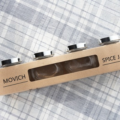 마켓비 MOVICH 유리병 4팩