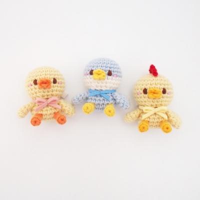 꼬꼬마 오리 닭 펭귄 열쇠고리, 휴대폰고리 인형