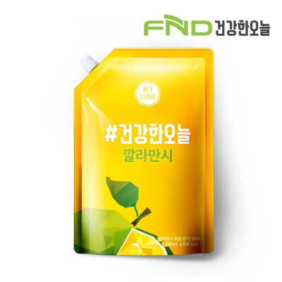 FND건강한오늘 깔라만시 원액 100% 1L