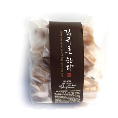 신궁전통한과 명인 김규흔 명인꿀약과 500g