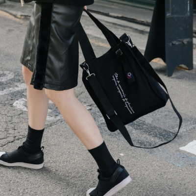 [로아드로아] NEW AH CHOO SHOULDER BAG (BLACK)