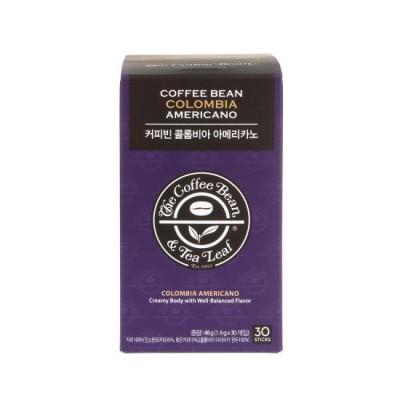 커피빈 콜롬비아 아메리카노 1.6g*30T