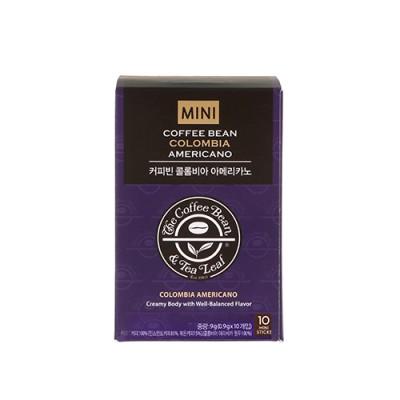 커피빈 콜롬비아 아메리카노 미니 0.9g*10T