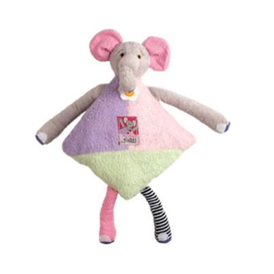 쿠쉬스 애착인형 크리터스 인형베개 코끼리 엘라