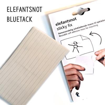 엘레펀트 화이트 블루택 50g 접착제